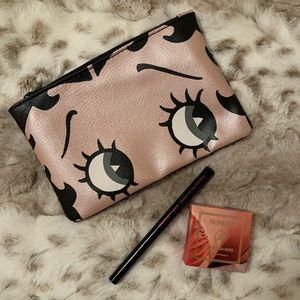 NEW Betty Boop Ipsy Bag w/ Eyeliner & Highlighter